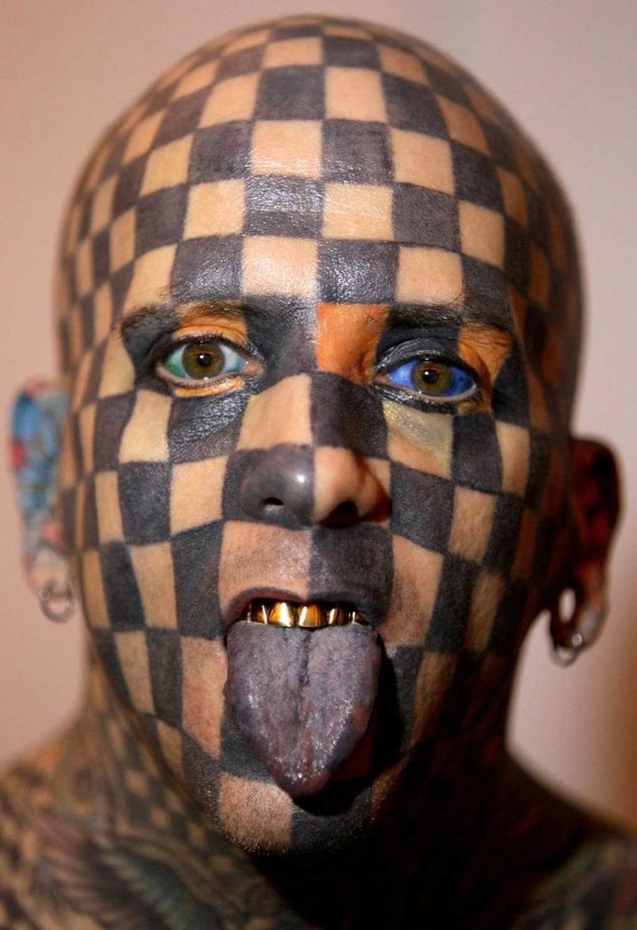 Tatto Crazy Art Ideas: Seriously Crazy Tattoo Design -