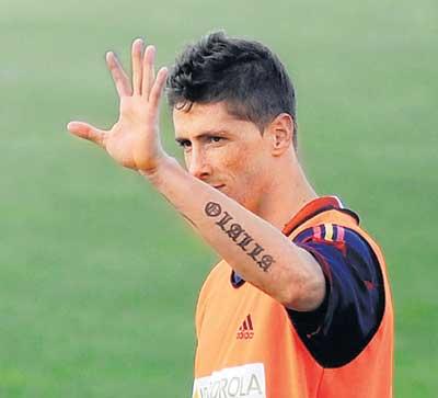 Coolest  Torress Tattoo Scriptures On His Skin