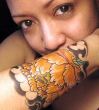 Flower Forearm Tattoos - Best Forearm Tattoos For Girls