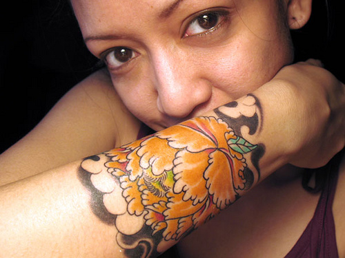 Flower Forearm Tattoos – Best Forearm Tattoos For Girls