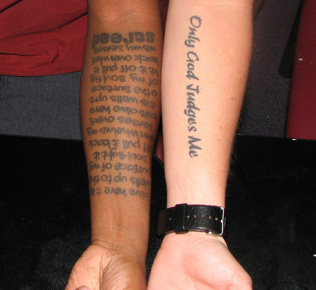 Forearm Tattoo With Words – Tatto Designs