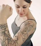 Sleeve Tattoos For Girls Tattoos