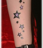 Star Tattoos On Forearm Tattoo Girls - Tattoos For Girls