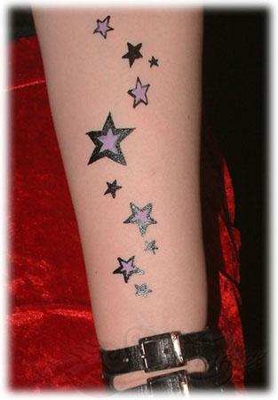 Star Tattoos On Forearm Tattoo Girls – Tattoos For Girls