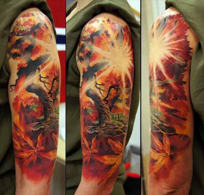forest-in-autumn-tattoo