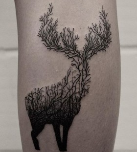 forrest-deer-autumn-tattoo