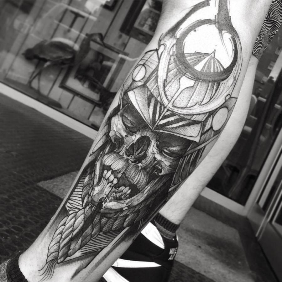 fredao_oliveira-kabuto-skull-tattoo