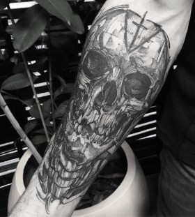 fredao_oliveira-skecth-skull-tattoo