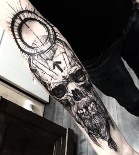 fredao_oliveira-viking-skull-tattoo