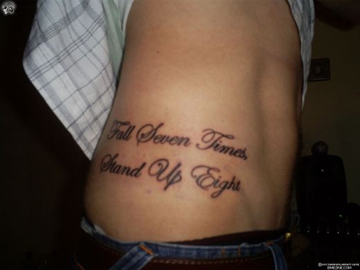 Tattoo Ideas Quotes on Strength