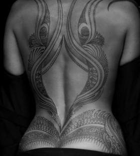 full-back-tattoos-for-women