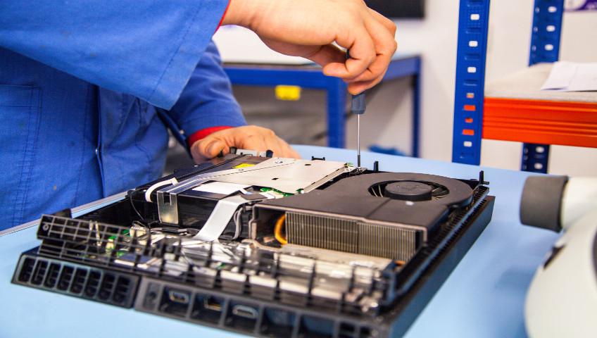 game console repair