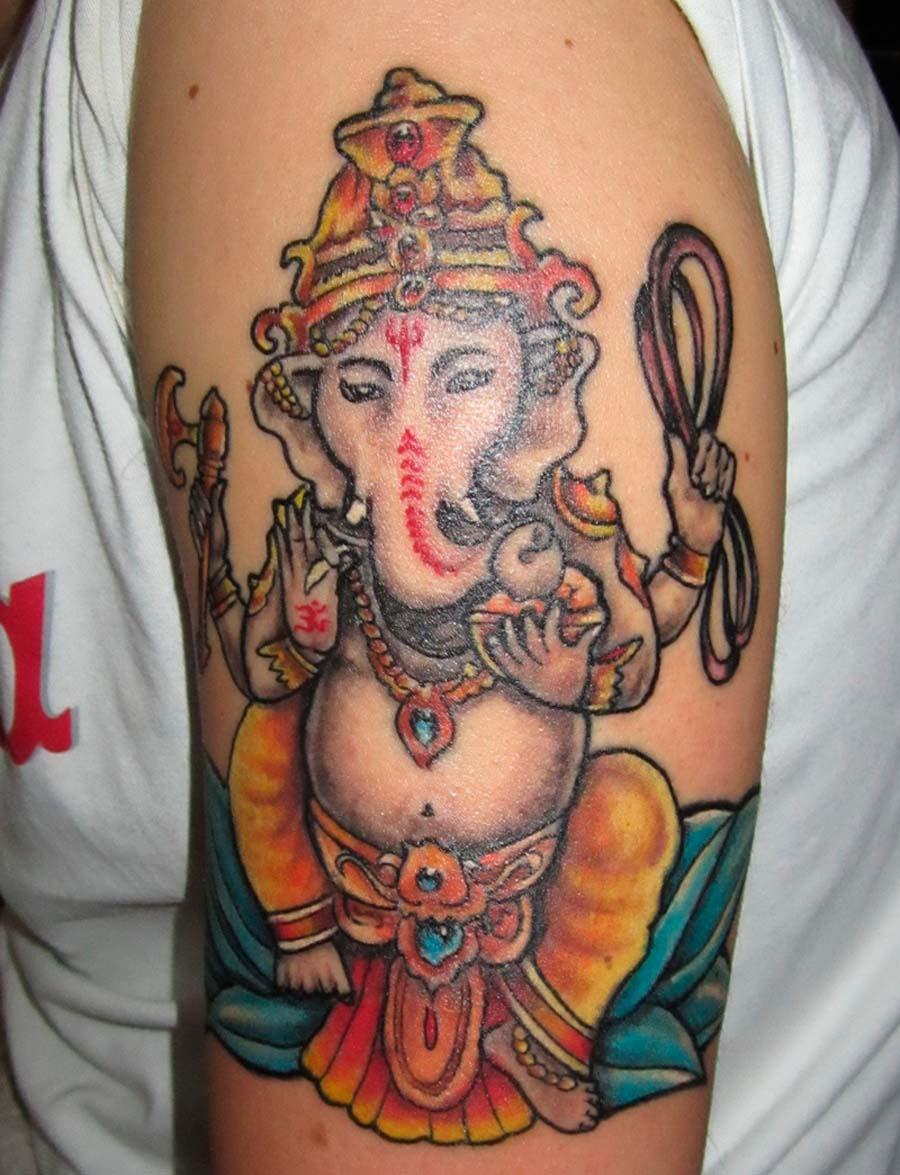 Buddha Tattoo Ganesh Tattoo Thailand