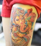Ganesha Tattoorespected Representations Of God