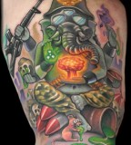Looking For Unique Tattoos Apocalyptic Ganesh