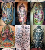 Notes From Somewhere Bizarre 12 Ganesh Tattoos