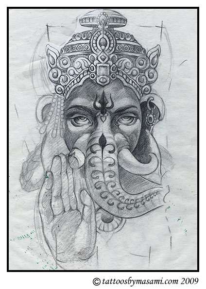 Stacy Keibler Elephant Tattoos Creation