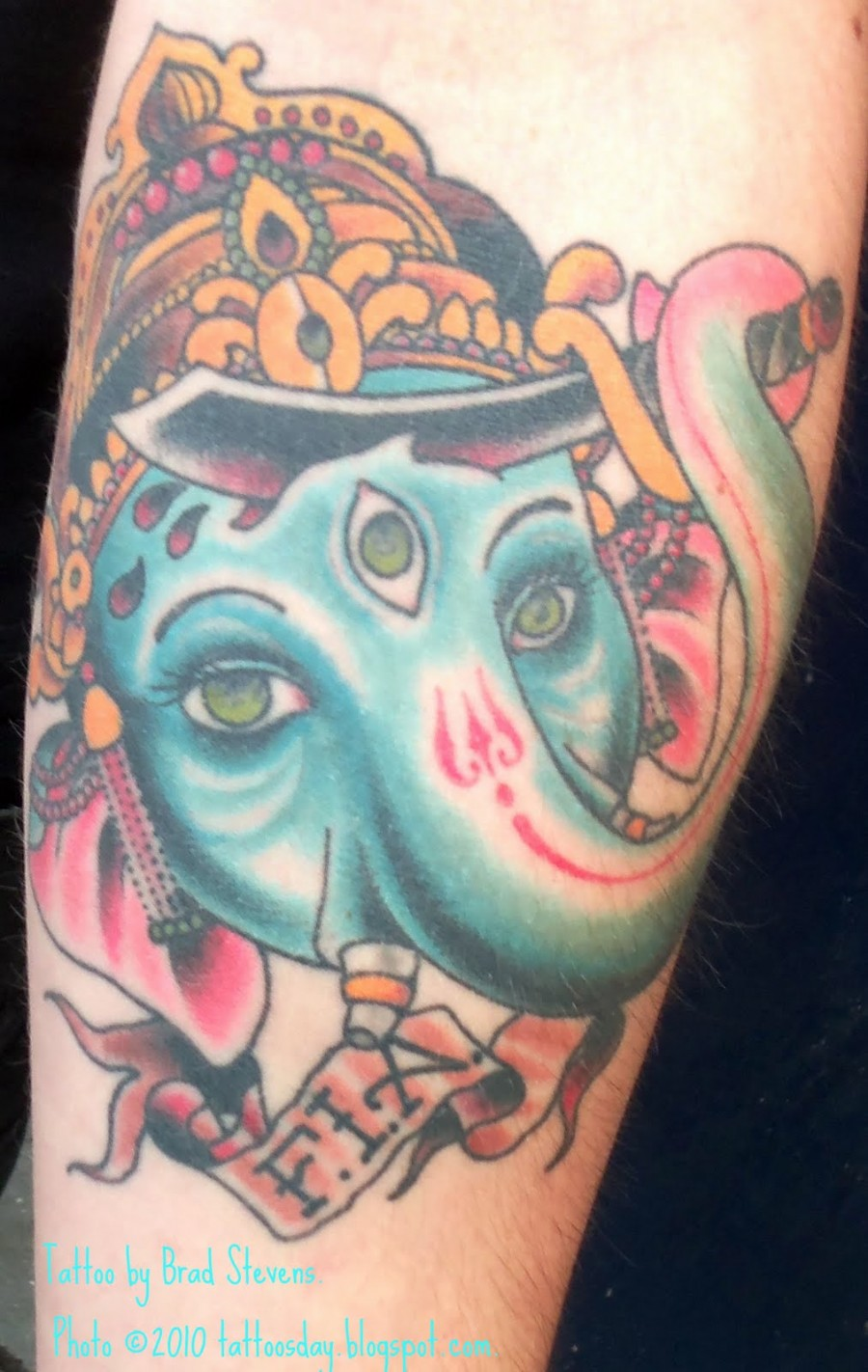 Tattoosday A Tattoo Blog Travis And Another Perspective Of Ganesh