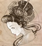 Cool Tattoo Zone Japanese Geisha Tattoo Designs Gallery