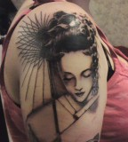 Geisha Japanese Tattoo Design Designs Tattooan Free Download