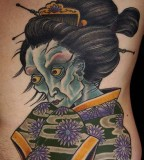 Tatto Design Of Geisha Tattoos Tattoodesignsideas