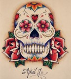 Bold Skull Tattoo Idea