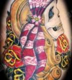 Cute Girly Skull Tattoos