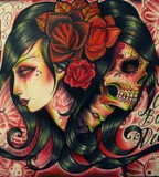Sugar Skull Tattoo Designs are Usually Beautiful Styles