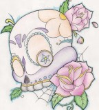 Girly Sugar Skull Deviantart