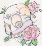 Girly Sugar Skull Deviantart