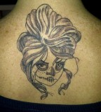 Different Girly Skull Tattoo