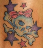 Skull Tattoo Girly Lilzeu