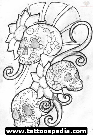 Sugar Skull Tattoo Design Ideas Tattoomagz Tattoo Designs