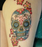 Sugar Skull Tattoo Meaning [NSFW]