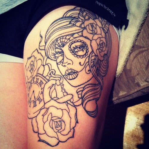 Cute Rose Tattoos Outline Tattoomagz Tattoo Designs Ink