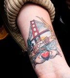 Unique SF Bridge Tattoos