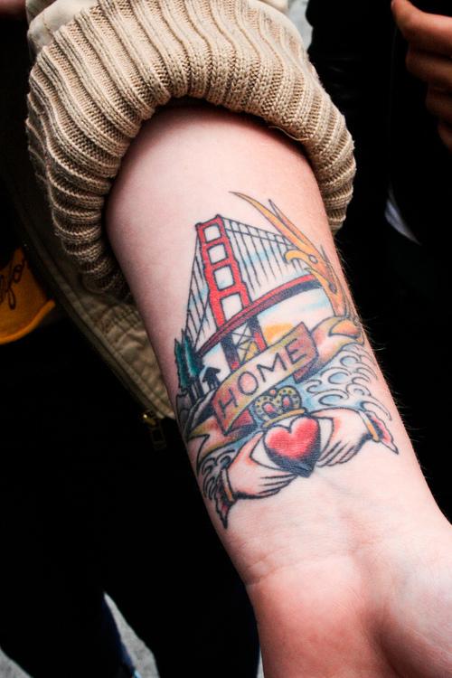 Unique SF Bridge Tattoos