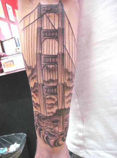 Glamorous Golden Gate Bridge Tower