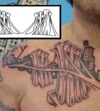 Cool Brooklyn Bridge Images Tattoo