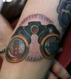 Exquisite San Francisco Golden Gate Bridge Tattoo Ideas