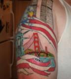 Golden Gate Bridge Images Tattoo