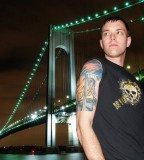 Awesome Verrazano Bridge Tattoo