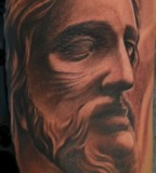 Jesus Face Drawing by Goodfellas italian artist