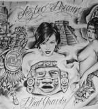Awesome Goodfellas Tattoo Drawing (NSFW)