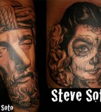Al Pachanka piece and Jesus Helguera with the Steve Soto touch