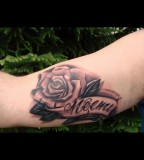 Beautiful Rose Tattoo Design for Girl from Goodfellas Tattoo Art Studio