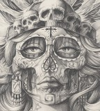 ARTE Tattoo Drawing BY STEVE SOTO