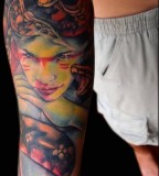 Picturesque Greek Mythology Arm Tattoo Ideas For Men