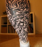 Amazing Zeus Greek God Tattoo Inspiration Photo