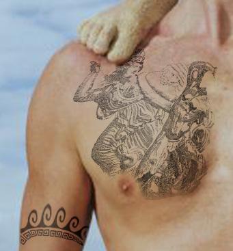 Groovy Photo Of Greek Mythology Tattoo Ideas